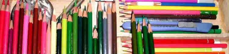 塗り絵で使う画材道具の選び方使い方を分かり易く解説